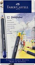 Kleurpotloden Faber Castell Goldfaber blik à 12 stuks assorti