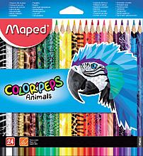 Kleurpotloden Maped doos 24stuks assorti
