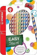Kleurpotloden STABILO Easycolors rechtshandig etui à 12 kleuren