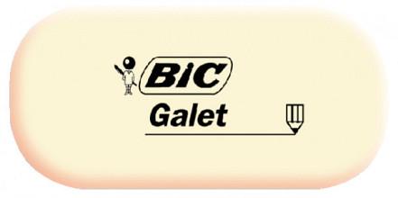 Gum Bic Galet zacht potlood wit