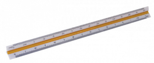 Schaalstok M+R 1631 1:20/25/50/75/100/125