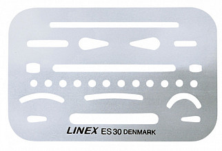 Radeersjabloon Linex es-30