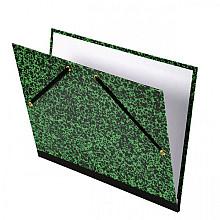 Tekenmap Canson Studio 37x52cm 2-elastiek groen