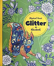Kleurboek Interstat volwassenen glitter thema mystical forest