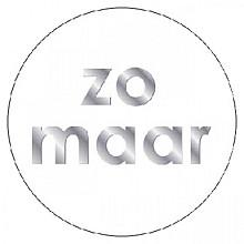Etiket Haza Zomaar zilver/wit