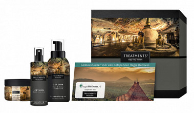 Cadeaubox Treatments Ceylon set set + 2 vouchers