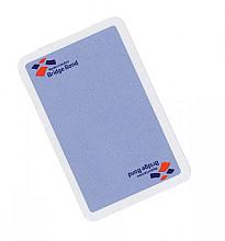 Speelkaarten bridgebond blauw