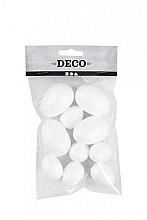 Eieren Styropor Creotime 2 formaten wit