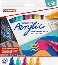 Acrylmarker edding e-5000 breed set van 5 kleuren abstract