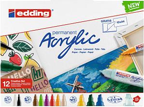 Acrylmarker edding starterskit groot creatief