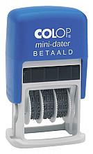 Woord-datumstempel Colop S160B betaald