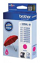 Inktcartridge Brother LC-225XLM rood HC