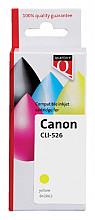 Inktcartridge Quantore Canon CLI-526 geel