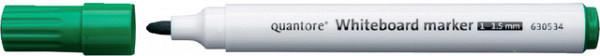 Whiteboardstift Quantore rond 1-1.5mm groen