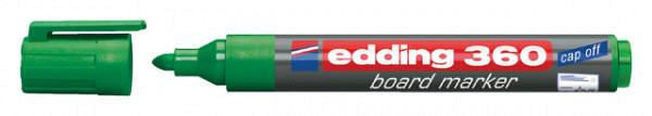 Viltstift edding 360 whiteboard rond groen 3mm