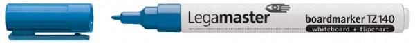 Viltstift Legamaster TZ140 whiteboard rond blauw 1mm