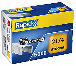 Nieten Rapid 21/4 gegalvaniseerd strong 5000 stuks