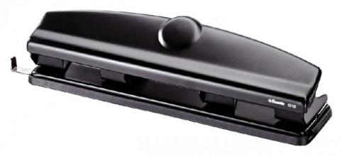 Perforator Esselte 4-gaats 10vel zwart
