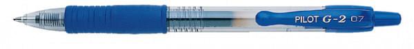 Gelschrijver PILOT G2 blauw 0.4mm