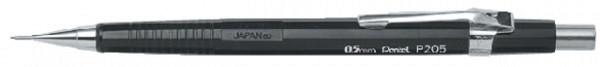 Vulpotlood pentel P205 0.5mm zwart