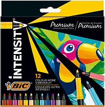 Kleurstift Bic Intensity etui à 12 kleuren