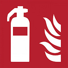 Pictogram Tarifold brandblusser 150x150mm