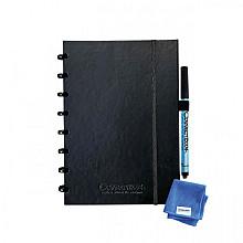 Notitieboek Correctbook Premium A5 lijn 40blz ink black