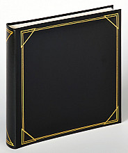 Fotoalbum Walther klassiek 30x30cm 100vel zwart