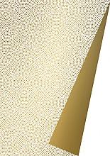 Cadeaupapier 50cm K601969-50 spirograph gold DZ 50cm