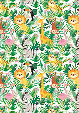 Cadeaupapier 30cm K602135-30 Jungle Kids 30cm