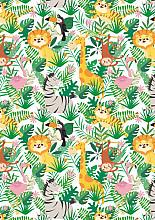Cadeaupapier 50cm K602135-50 Jungle Kids 50cm