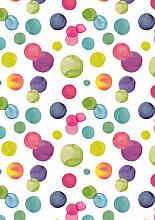 Cadeaupapier 50cm K601848-50 summer dots 50cm