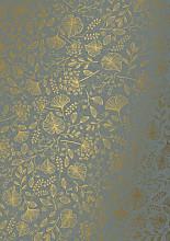 Cadeaupapier 50cm K601757/7-50 branches grey 50cm