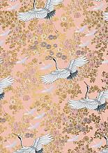 Cadeaupapier 50cm K601977/6-30/50 kimono pink 30 cm