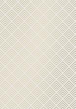 Cadeaupapier 50cm K602052/5-50 Structures Cream/Gold 50cm