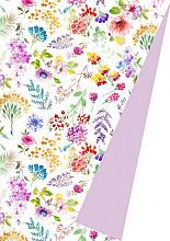 Cadeaupapier 50cm K602103/1-30/50 Aquarel flowers 30cm
