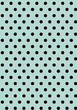 Cadeaupapier 30cm K60913/181-30 Dots  Mint 30 cm