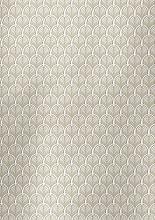 Cadeaupapier 30cm K801802/1-30/100 art deco white/gold 30cm