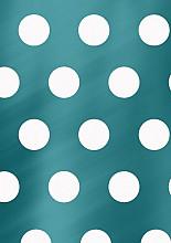 Cadeaupapier 30cm K80892/16-30/100 Big Dots petrol 30cm