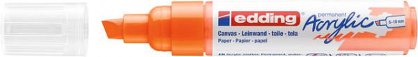 Acrylmarker edding e-5000 breed  neon oranje