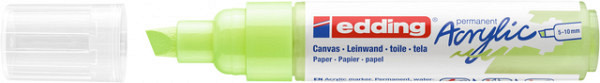 Acrylmarker edding e-5000 breed  pastel groen