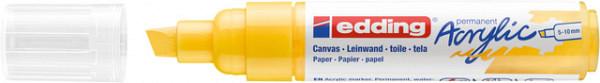 Acrylmarker edding e-5000 breed  verkeersgeel