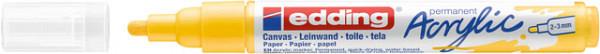 Acrylmarker edding e-5100 medium verkeersgeel