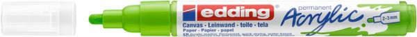 Acrylmarker edding e-5100 medium geelgroen