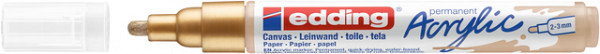 Acrylmarker edding e-5100 medium rijkgoud