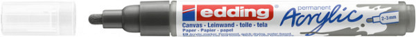 Acrylmarker edding e-5100 medium antraciet