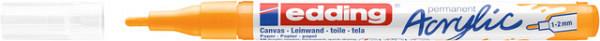 Acrylmarker edding e-5300 fijn zonnegeel