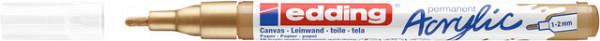 Acrylmarker edding e-5300 fijn rijkgoud