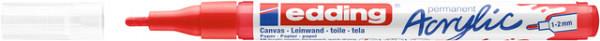 Acrylmarker edding e-5300 fijn verkeersrood