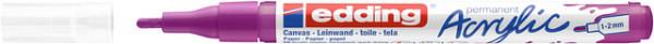 Acrylmarker edding e-5300 fijn bessen rood